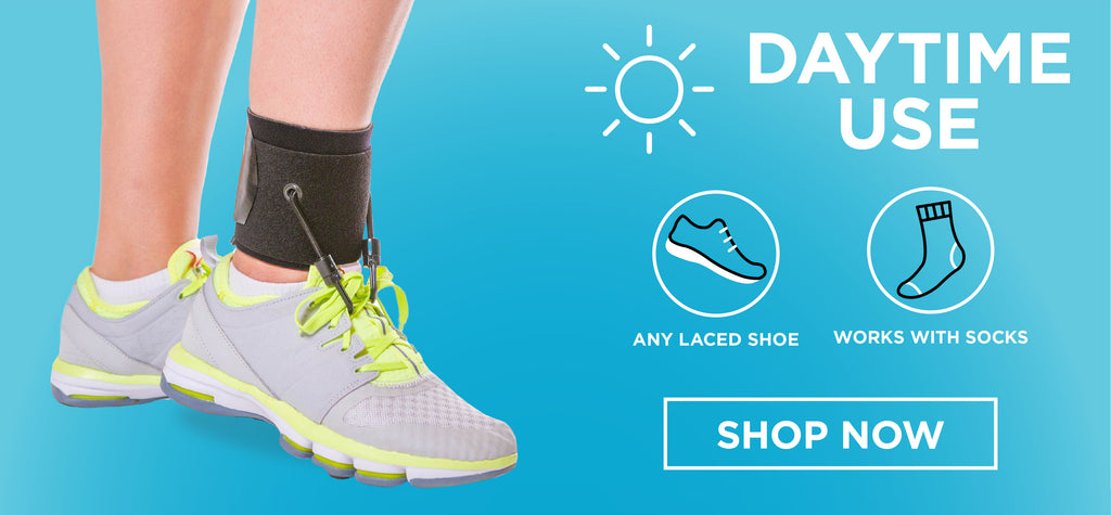 when in need of a brace for foot drop, check out our daytime brace