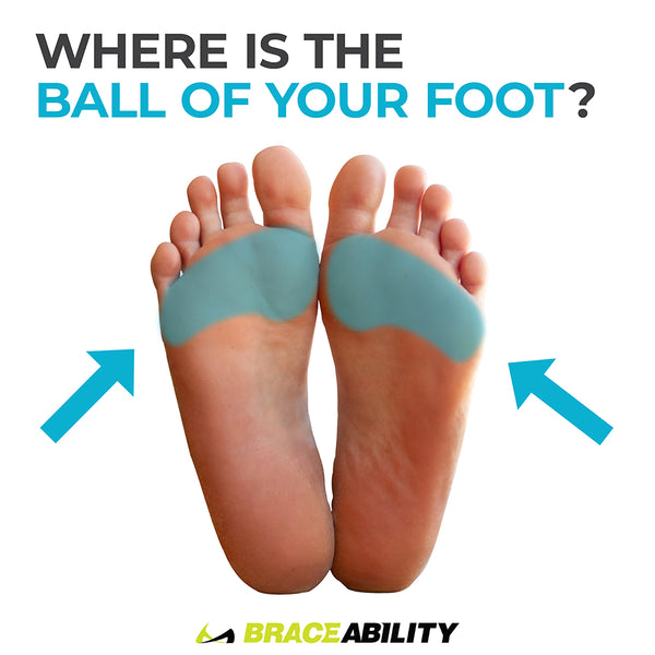 Ball of Foot Pain   Do the Bottoms of