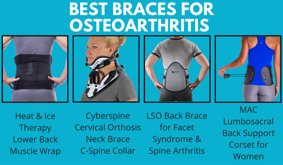 How to treat spinal osteoarthritis with a back brace