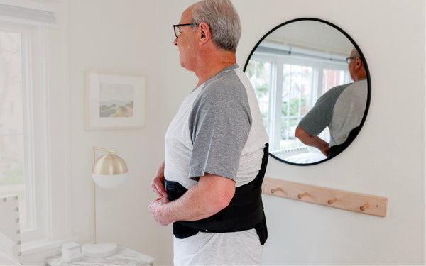 tall back braces help to stabilize your back improving your posture