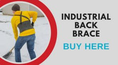 buy this back brace to help with lumbar pain while shoveling snow