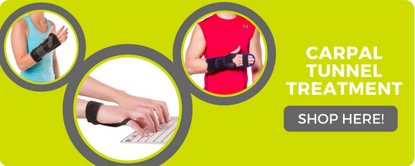 wearing a splint for carpal tunnel keeps your wrist in a natural position