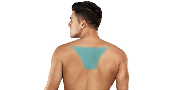 pain between shoulder blades happens because of muscle irritation