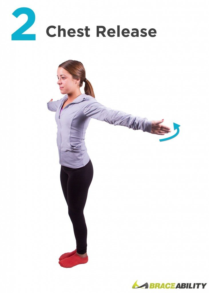 chest release exercise for fixing bad posture