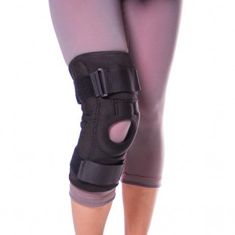 Patellofemoral pain syndrome knee brace for chondromalacia