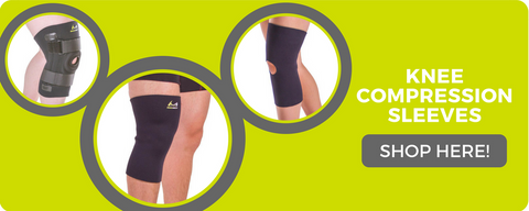 shop braceability's collection of knee compression sleeves and more