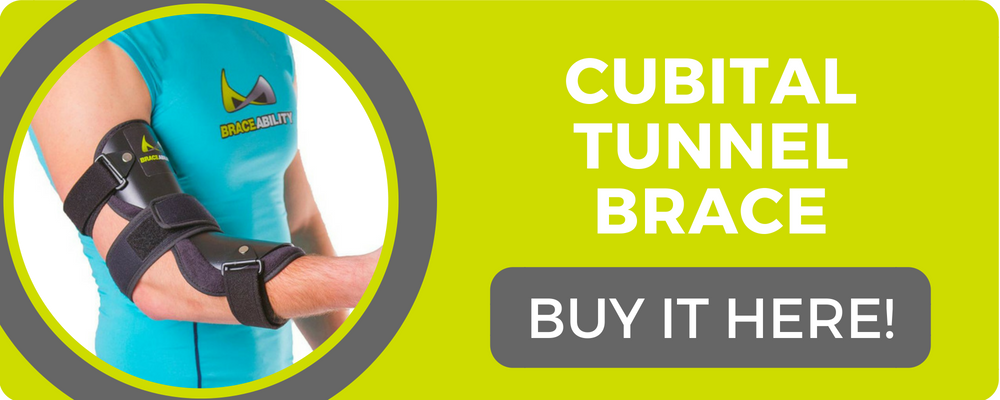 cubital tunnel brace for radial nerve pain and injury