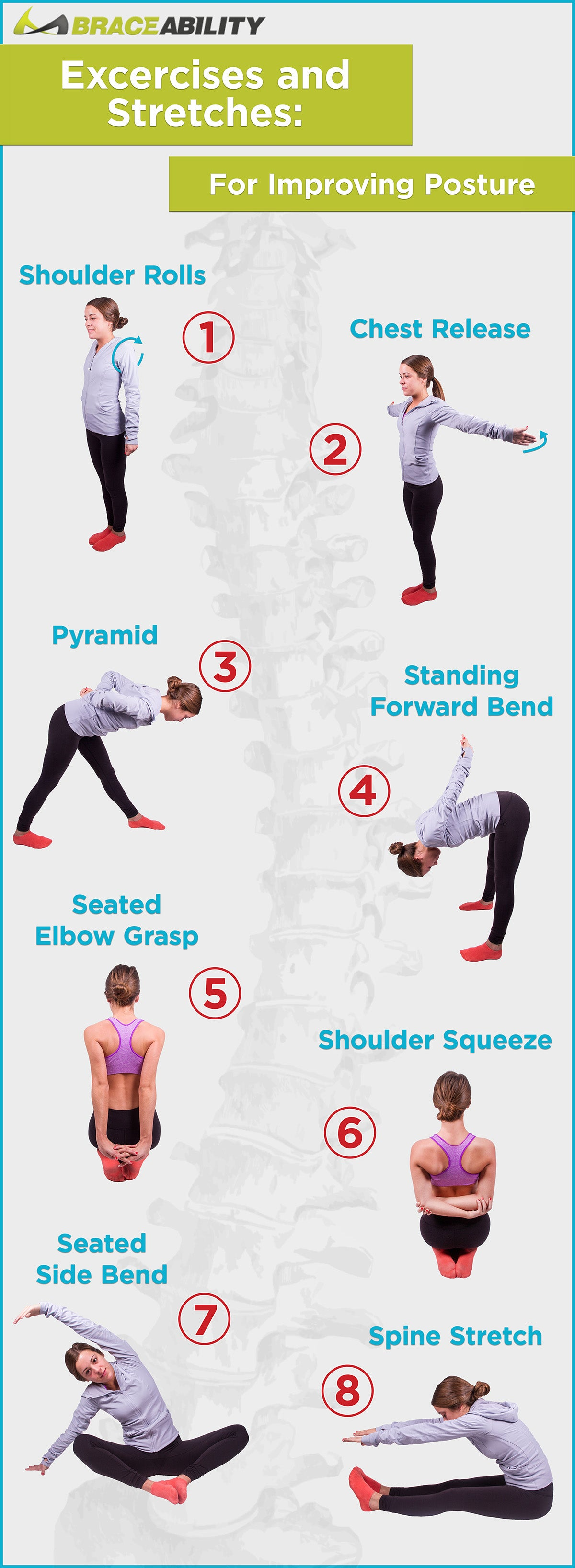 Try these exercises for bad posture and prevent future shoulder problems