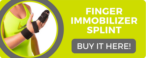 buy this finger immoblizer splint to help treat dupuytren's contracture