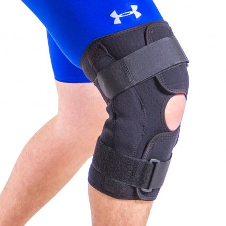 Use this wrap around knee brace to help treat patellofemoral pain sydrome