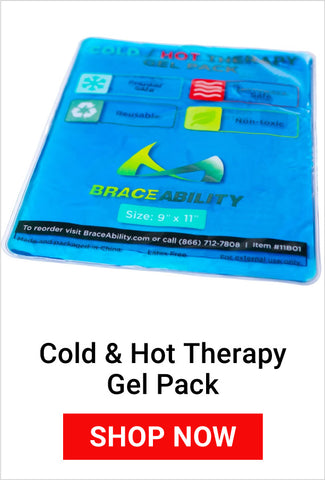 cold and hot therapy gel pack for acute pain