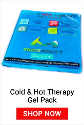 use an ice pack after working in the garden to prevent future pain