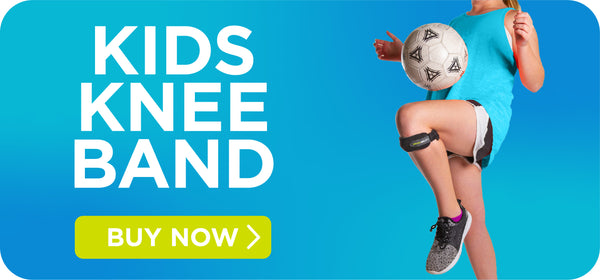 shop the kids knee band for patellar tendon pain here