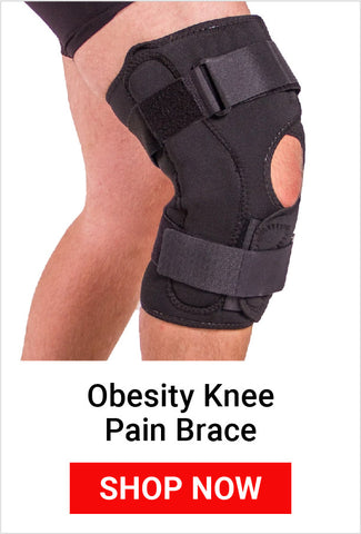 using an obesity knee pain brace in the garden will help prevent knee pain