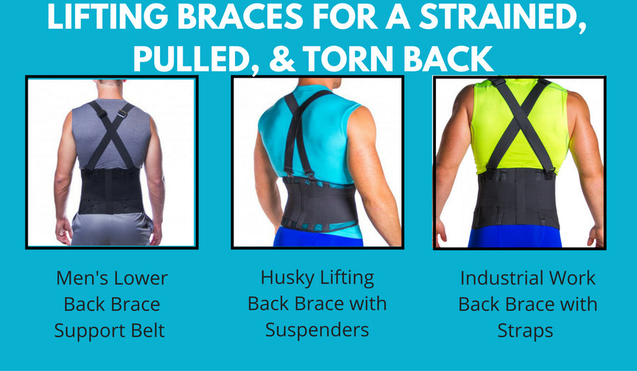 lifting braces to use when you pull or tear a back muscle