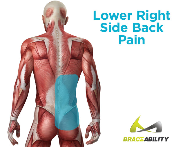 Find out what is causing lower back pain on your right side and in your gluteus