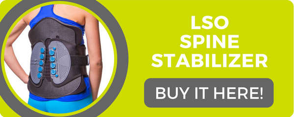 lso spine stabilization brace to help immobilize your back