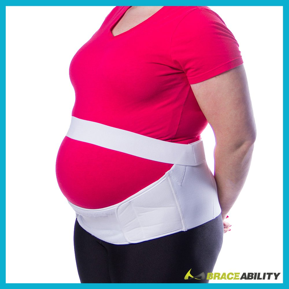 Using a maternity belt will help keep your stomach supported relieving lower back pain while pregnant