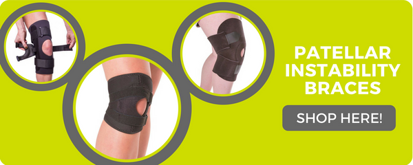 patellar instability brace to prevent your kneecap from moving side to side