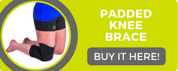 use this padded knee brace to help with patellofemoral pain