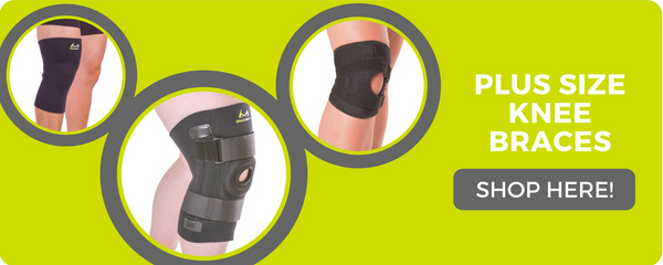 plus sized knee braces for obesity and sore joints