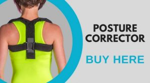 posture correcting brace to help straighten hunchback while sleeping