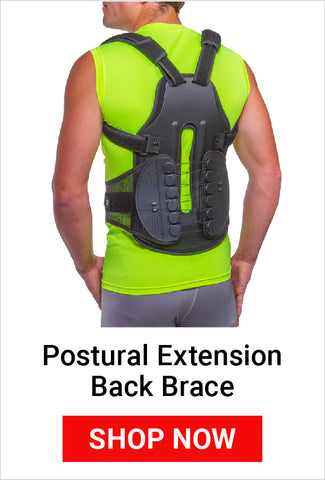 using a full back brace keeps your spine aligned reducing ra headaches