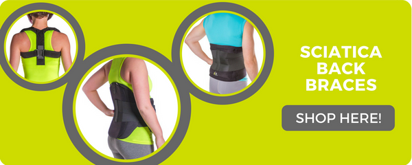sciatica back pain braces to help with therapy and relieve pain