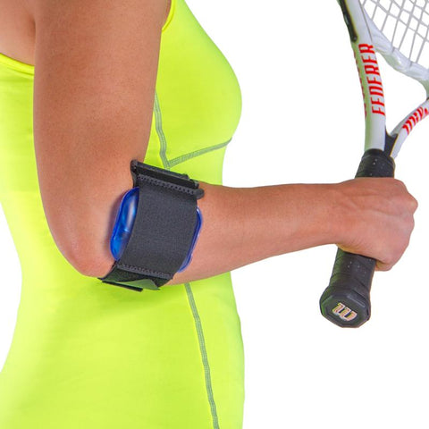tennis elbow cold therapy gel compression strap