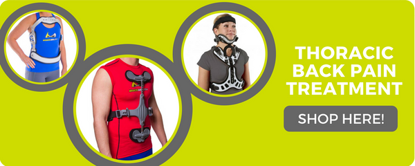 thoracic spine and neck braces to help the recovery process