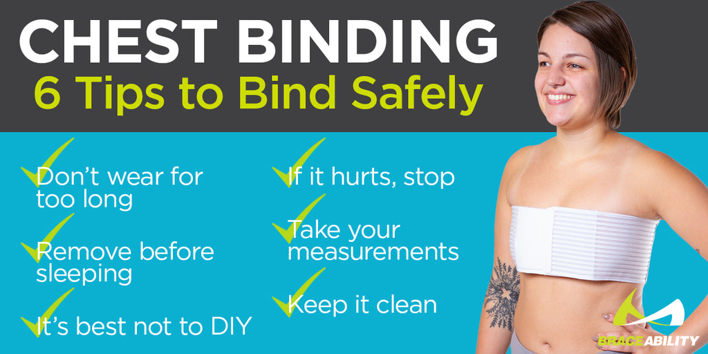 use these tips when binding your chest for a comfortable experience