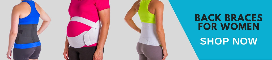 find a womens back brace to treat lower back pain during pregnancy