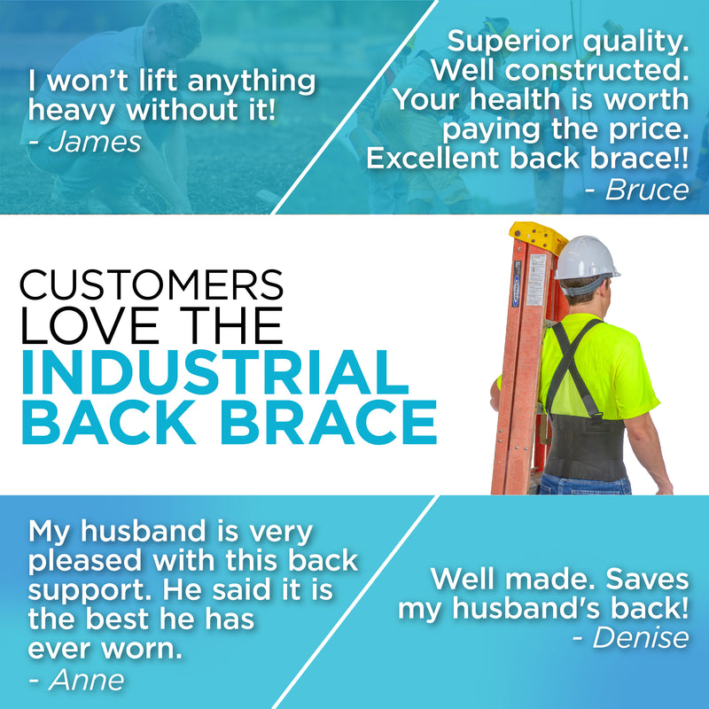 Hundreds of customers have told us how they couldn't believe they waited so long to purchase a back support for lifting