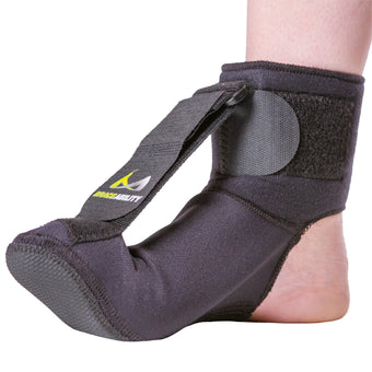 plantar fasciitis night splint soft stretching sock