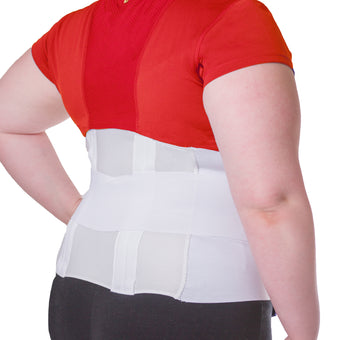 Our plus size lower back brace can help with lower back pain like arthritis or a herniated disc