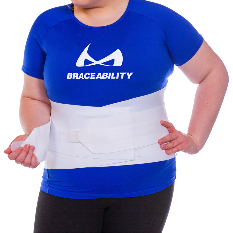 Bariatric Low Back Obesity Support Belt Girdle for Hips up to 69\