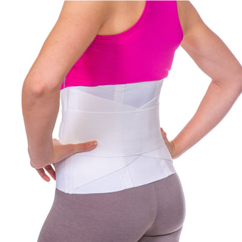 Women's back brace support for female lower back pain