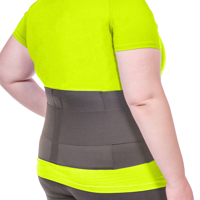 the plus size sciatica and pinched nerve lumbar back brace fits average to plus size men and women