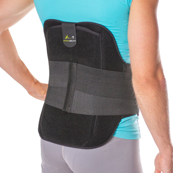 herniated and degenerative medical back brace for spinal pain