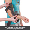 you will need help applying the cubital tunnel support brace