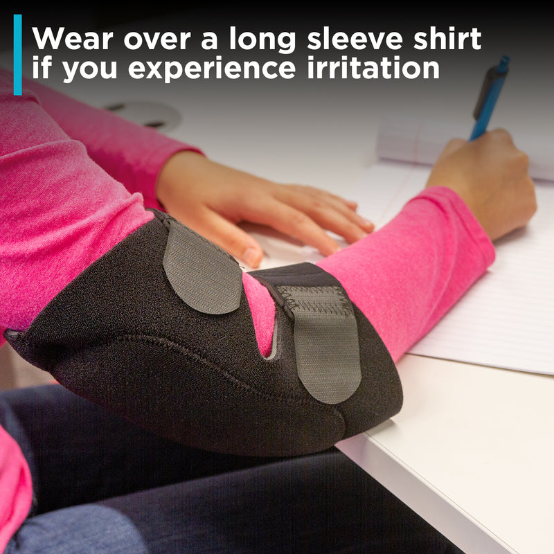 if the brace for olecranon fracture pinches your skin wear a long sleeve shirt