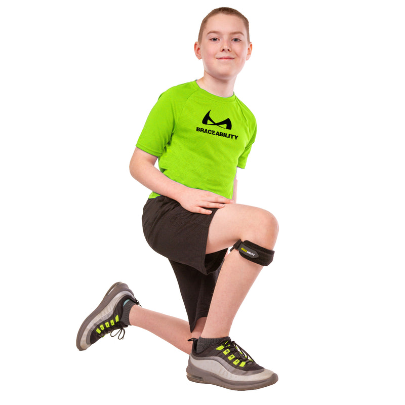 braceability kids knee band for osgood schlatters