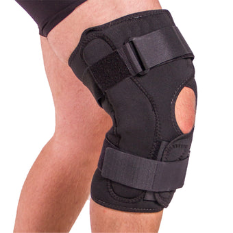 Obesity knee pain brace for plus size people and arthritis treatment