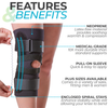medical grade knee brace for runners knee and patella stabilization