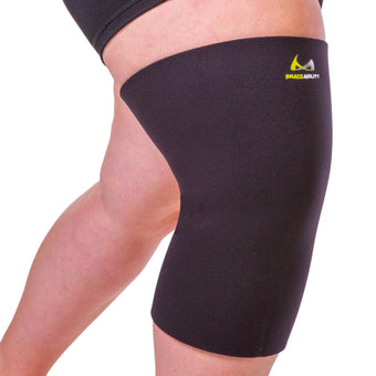 Plus size large compression knee sleeve is available in sizes up to 6XL