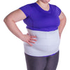 Ultra plus size abdominal tummy wrap girdle for obese men and women
