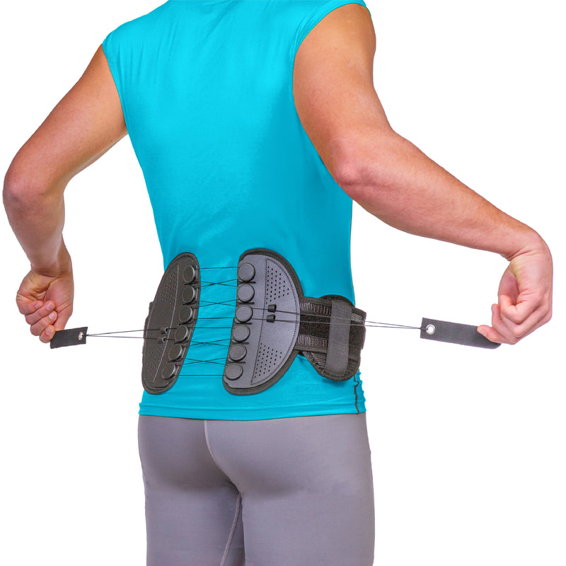 Sacroiliac SI joint compression brace for coccyx tailbone pain relief