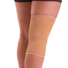 Four way stretch keeps the elastic knee sleeve from bunching behind your knee unlike traditional ACE bandages