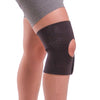 Non-slip knee wrap for athletic support and arthritis pain relief