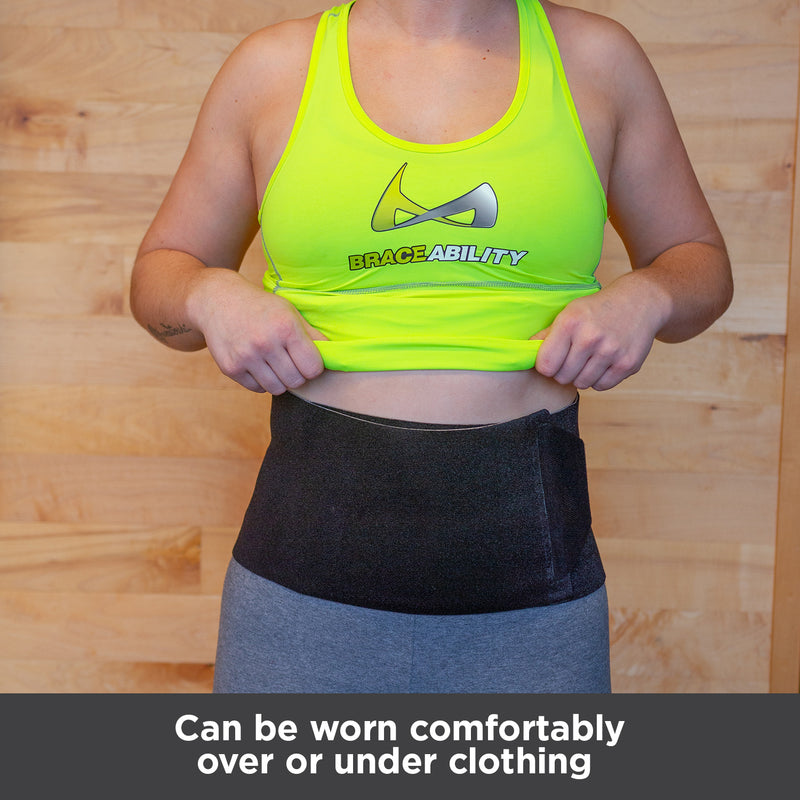 Diastasis recti muscle can be worn comfortably over or under clothing